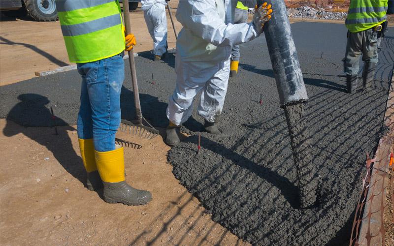 Pouring Concrete In Hot Temperatures